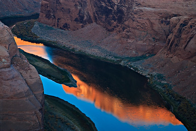 Colorado River - early morning reflections