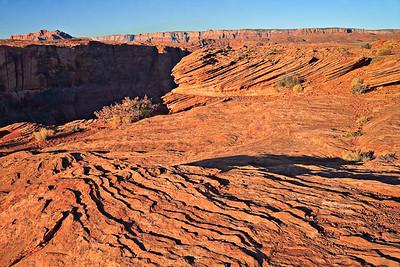 Navajo Sandstone dune crossbedding