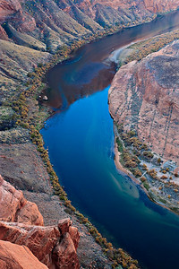 Colorado River - early morning on the Bend