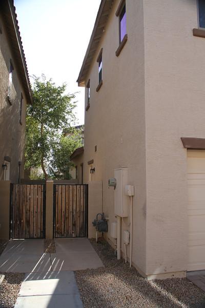 Rear/side of house/garage 6/25/2011
