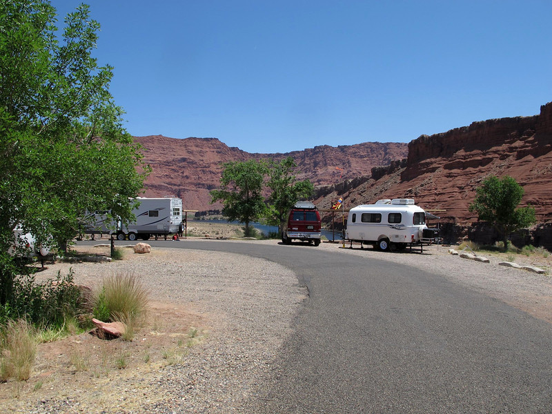 Konrad & Lynn's campsite