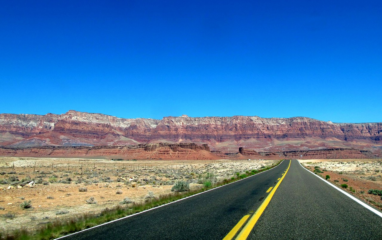 Hwy 89 to Lees Ferry ~ The stunning Vermillion Cliffs