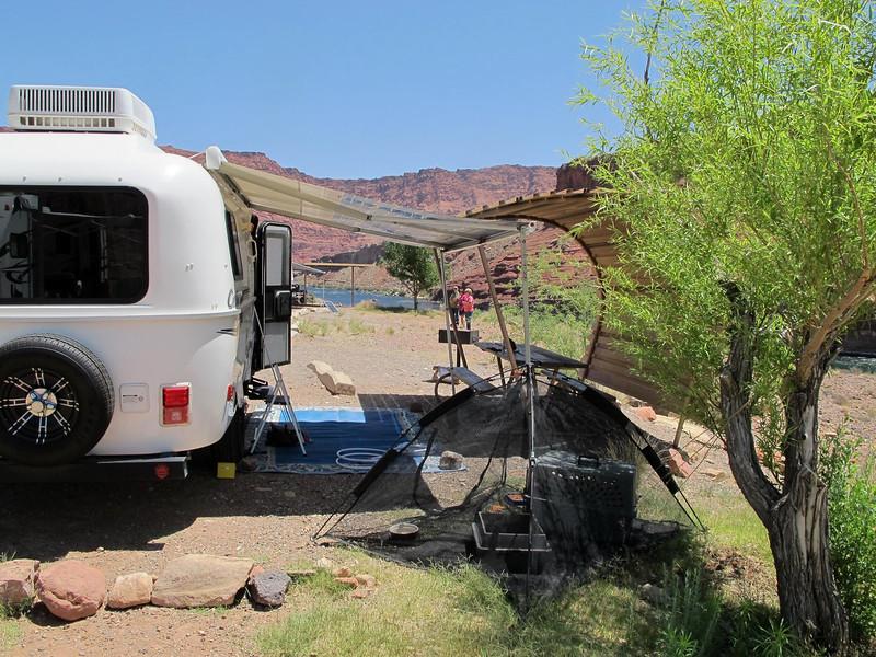 Sandi's campsite