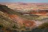 Painted Desert view from Kachina Point. Petrified Forest National Park, AZ<br /> <br /> AZ-201028-0062