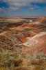 Painted Desert view from Nizhoni Point. Petrified Forest National Park, AZ<br /> <br /> AZ-201028-0071