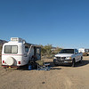 My spartan campstop in the desert