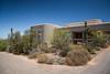 The Saguaro National Park Visitor's Center near Tucson, Arizona, USA.