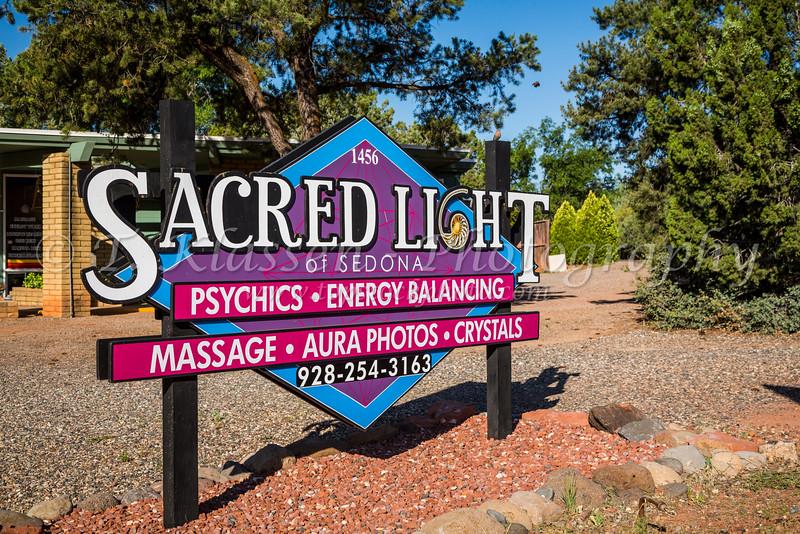 The Sacred Light New Age therapuetic center In Sedona, Arizona, USA.