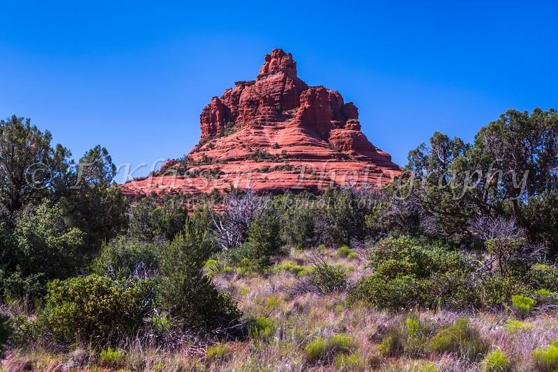 Bell Rock near Sedona, Arizona, USA.
