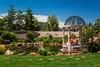 A large mansion, Comescu House near Sedona, Arizona, USA.