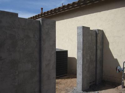 March 2011 yard install