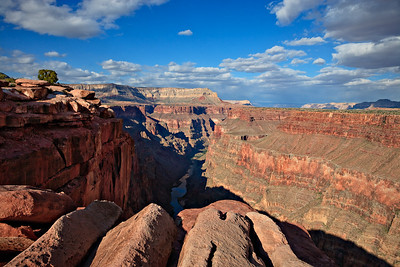Afternoon view east from Toroweap Point Grand Canyon, North Rim, Arizona