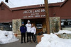 My daughter Aubrey and friend Nathan dropped us off at Jacob Lake Inn for the start of the expedition.