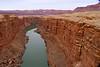Crossing the Colorado River in late February on the way to Jacob Lake, Arizona near the Utah border.