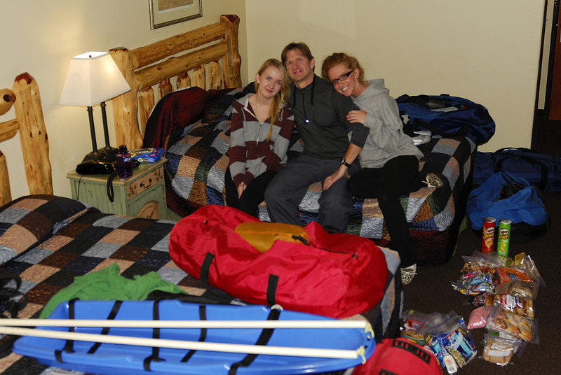 Jacob Lake Lodge the night before the trip.