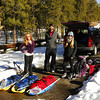 The ski trek started on AZ state highway 67 near Jacob Lake.