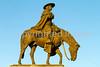 Father Kino statue in Tucson, AZ - C3-0037 - 72 ppi