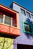 Colorful buildings in downtown Tucson, AZ - C2-0018 - 72 ppi