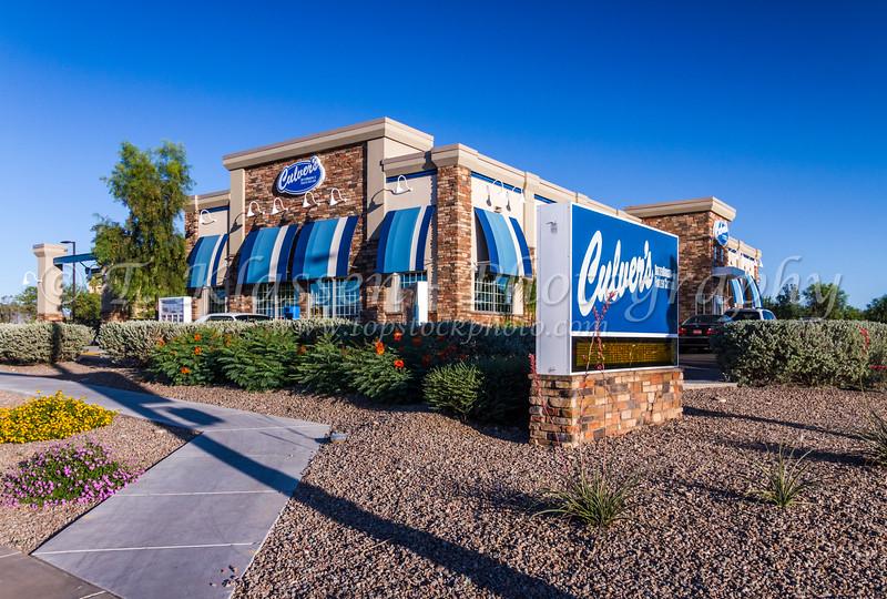 Culvers Restaurant in Tucson, Arizona, USA.