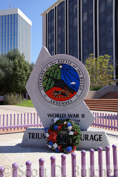 Battle of the Bulge Memorial, Tucson