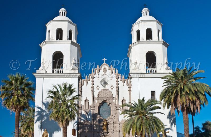 The Saint Augustine Cathedral in  Tucson, Arizona, USA.