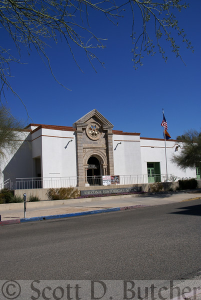 Arizoa Historical Society, Tucson, AZ