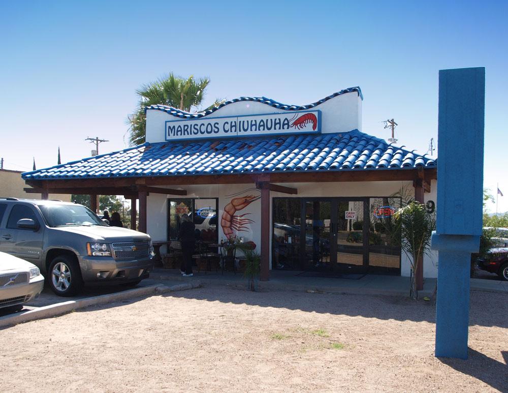 Lunch at Mariscos Chiuhauha in Tucson.