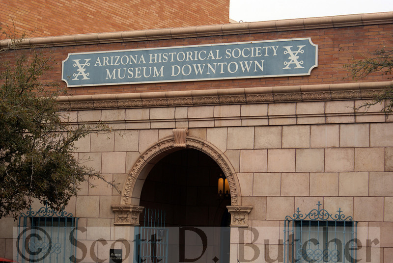 Arizona Historical Society Downtown Museum, Tucson, AZ