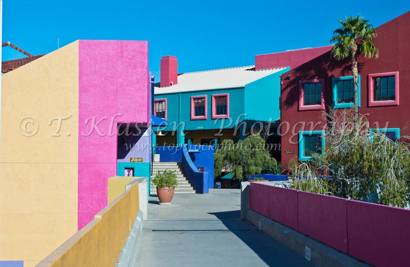 La Placita Village office complex in Tucson, Arizona, USA.