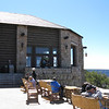 Grand Canyon North Rim Lodge patio