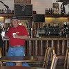 Grand Canyon North Rim Saloon ~ Luis brings us our Irish coffees (double yum!)