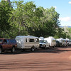 Staging area at Zion, ready to head to the Grand Canyon north rim