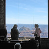 Jan and Diane in the Grand Canyon Lodge