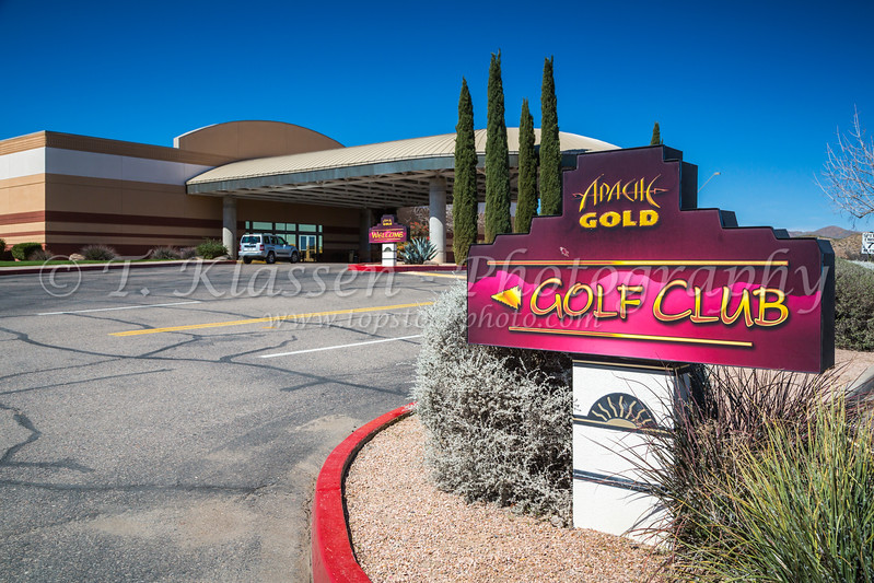 The Apache Gold Casino and Resort near Globe, Arizona, USA.
