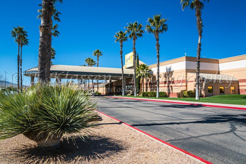 The Apache Gold Casino and Resort near Globe, Arizona, USA.