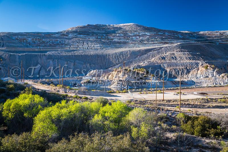 A Copper Mine installation near Globe, Arizona, USA.