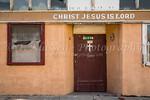 A Christian Mission building in Globe, Arizona, USA.