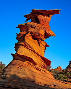Control Tower from below - Coyote Buttes South
