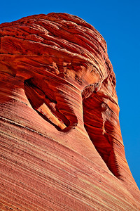 Arched Alcove - Coyote Buttes North