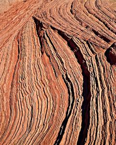 Dune crossbedding - White Pocket