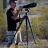 Me, as I'm capturing the Red Tailed Hawks in Queen Creek AZ at about 5:45am in the Desert.  The things we do to capture digital images of the surrounding Wild Life.  Thanks Bill for taking this pic.