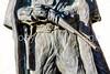 Wyatt Earp & Doc Holliday statue at train station in Tucson, AZ - C3-0108 - 72 ppi