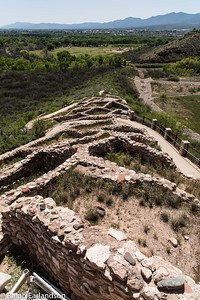 Foundation at Tuzigoot National Monument.