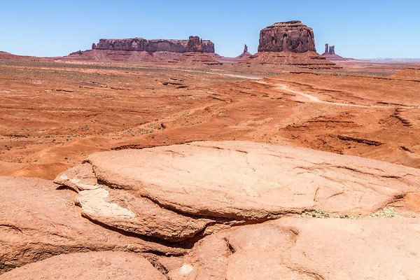 John Ford Point in Monument Valley in Arizona