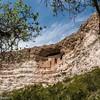 The Montezuma Castle ruin.