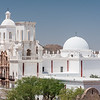The San Xavier Mission near Tucson.