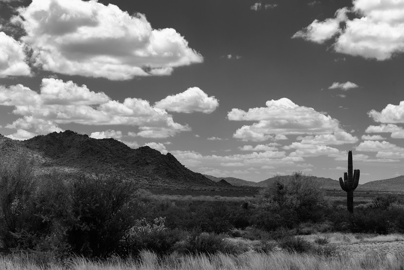 Clouds and Mountains, Congress, AZ