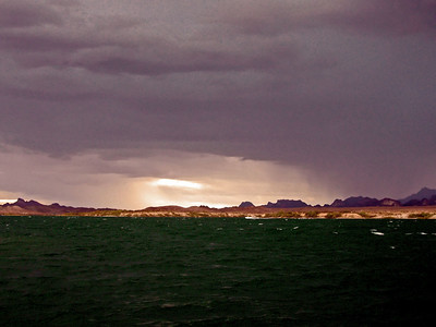 Approaching monsoon storm, Lake Havasu AZ