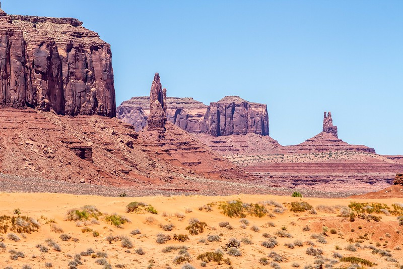 Monument Valley in Arizona