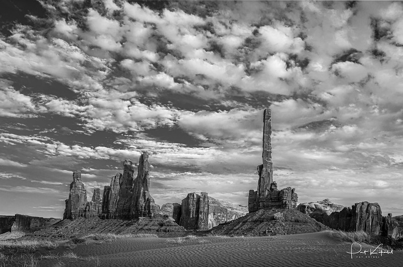 Totem Pole and Yei Bi Che-Monument Valley